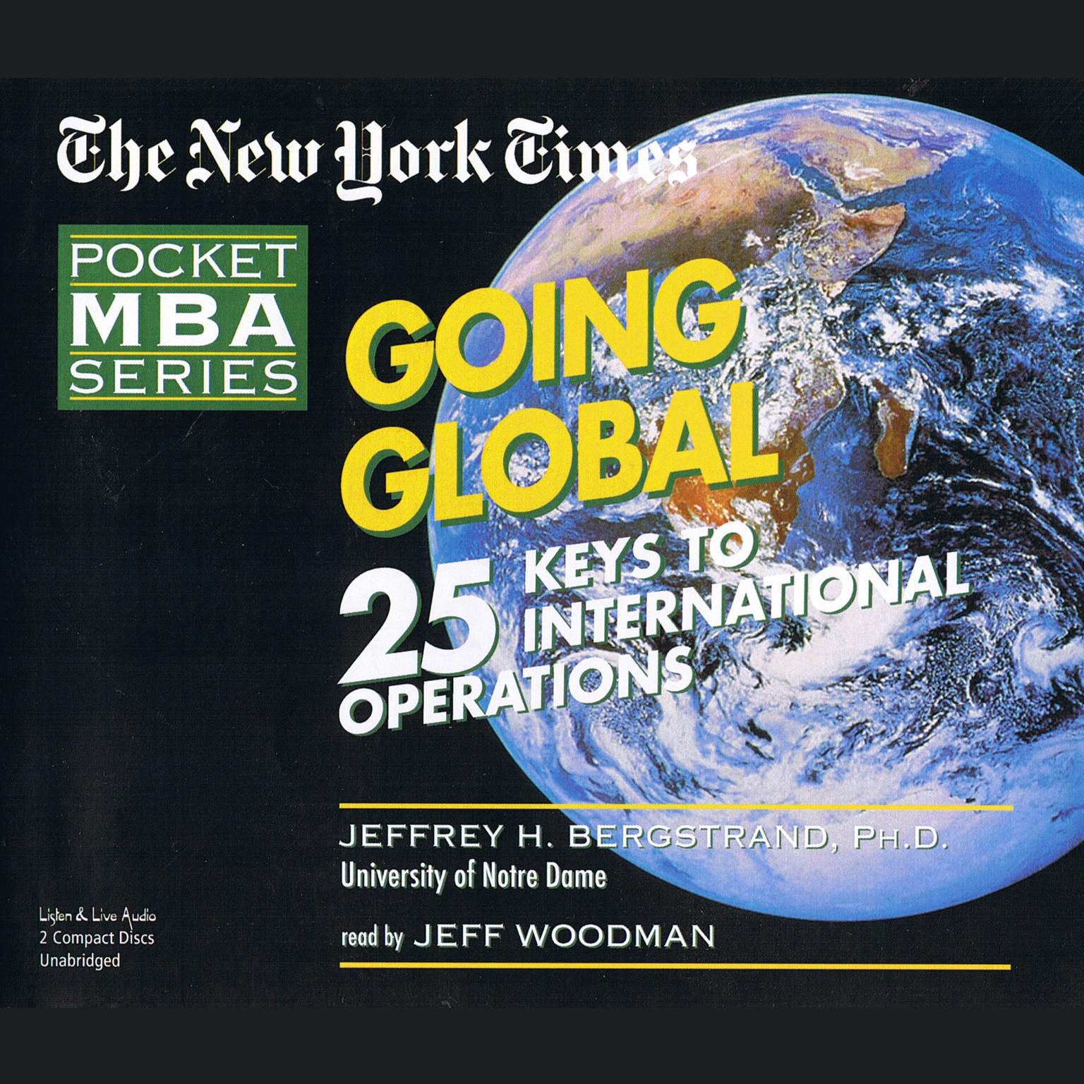 Printable Going Global: 25 Keys to International Operations Audiobook Cover Art