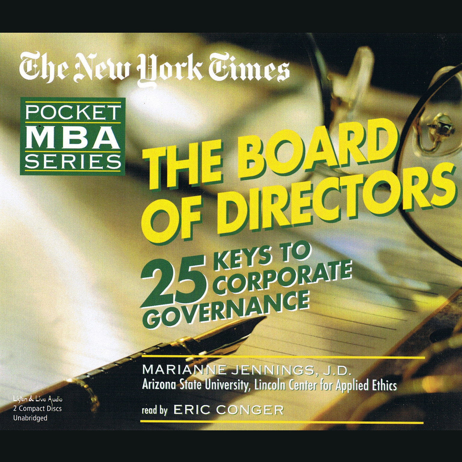 Printable The Board of Directors Audiobook Cover Art
