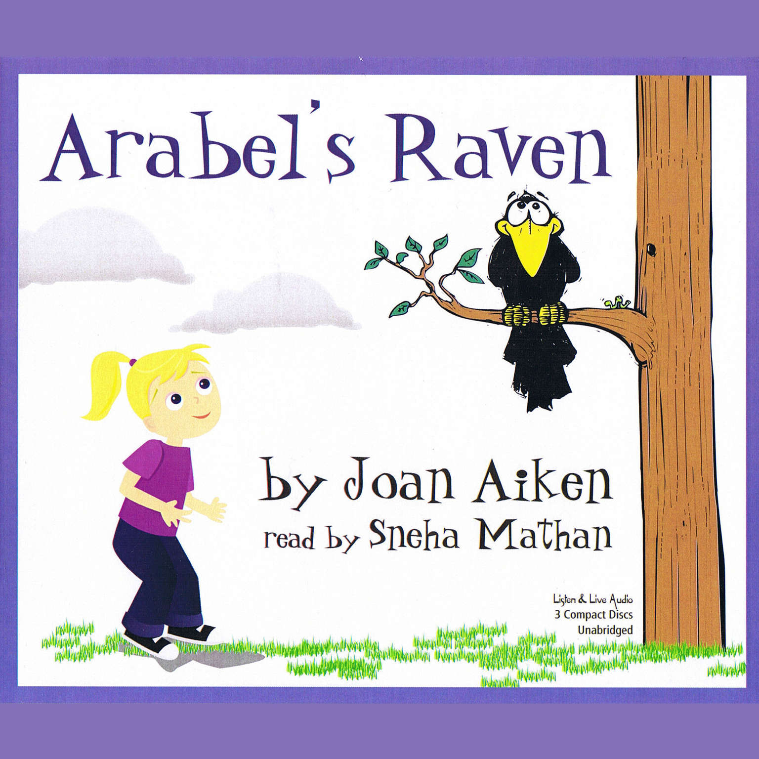 Printable Arabel's Raven Audiobook Cover Art