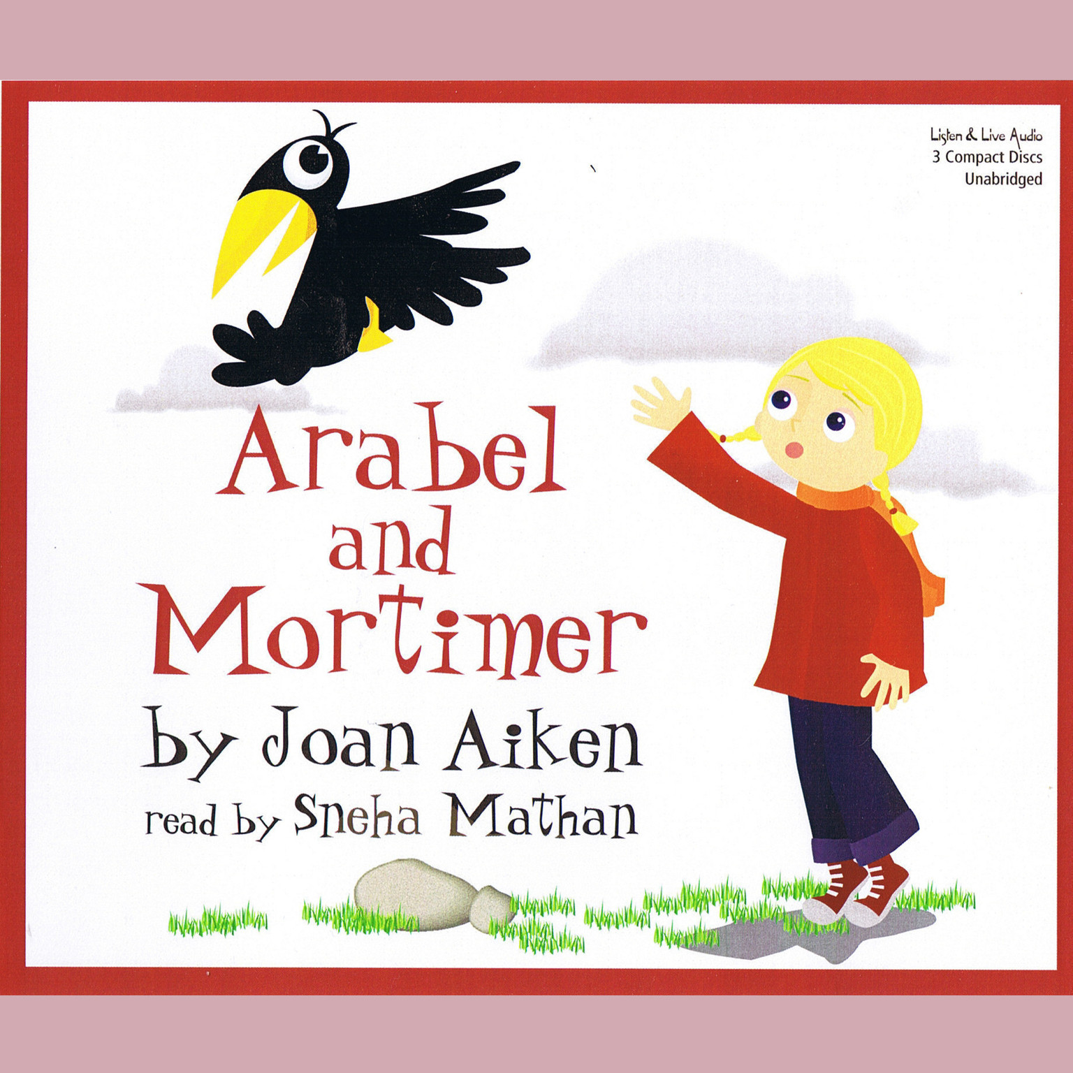 Printable Arabel and Mortimer Audiobook Cover Art