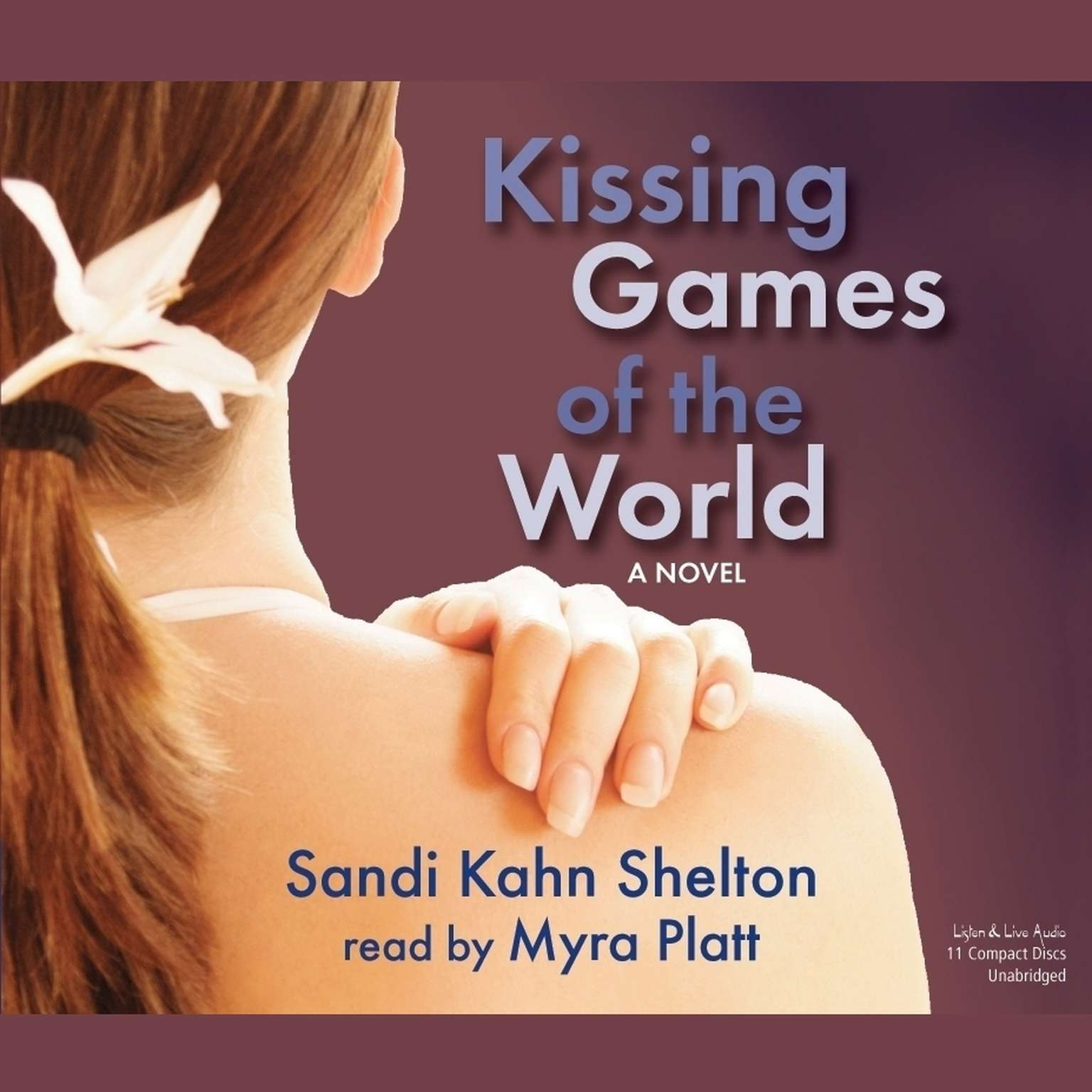 Printable Kissing Games of the World Audiobook Cover Art