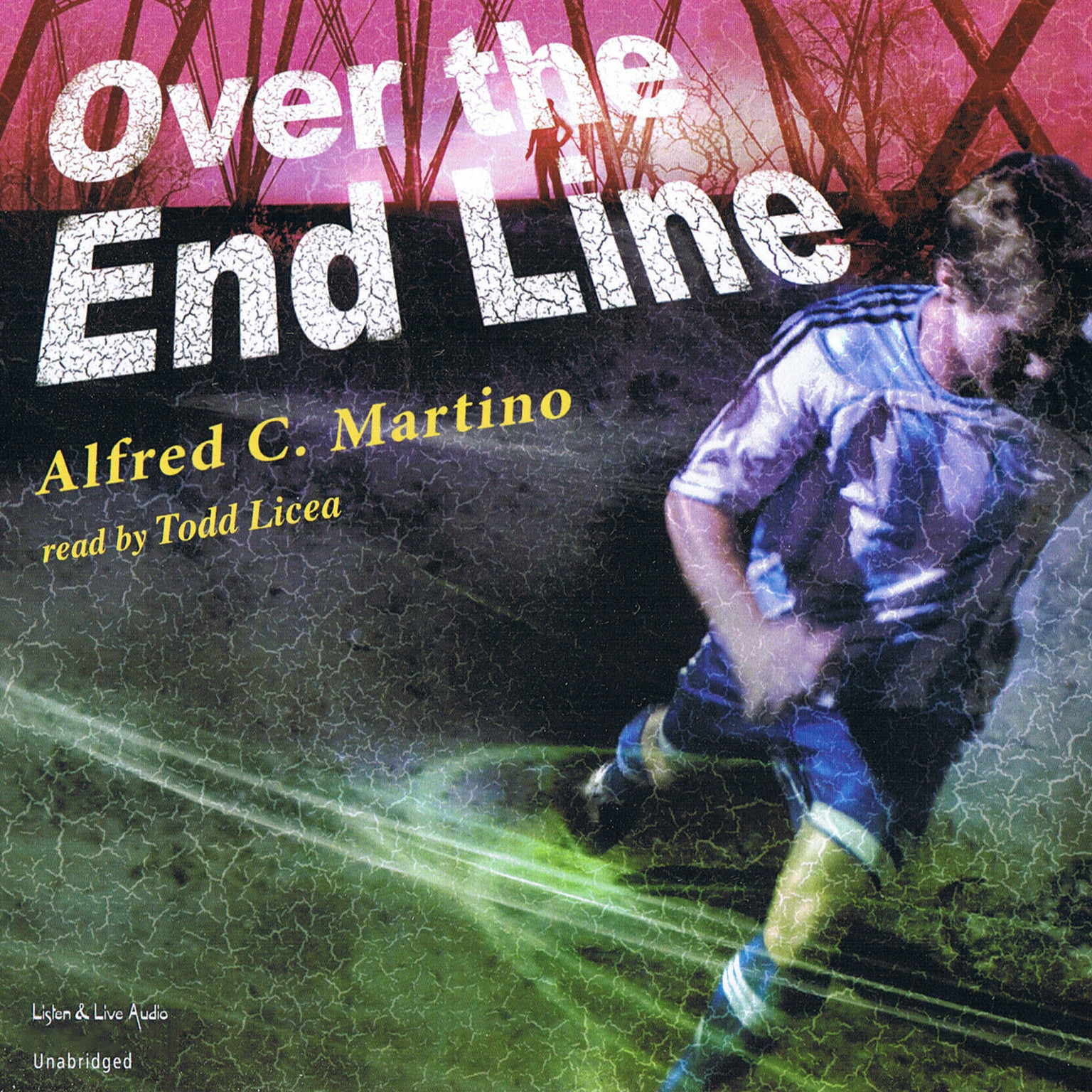 Printable Over the End Line Audiobook Cover Art