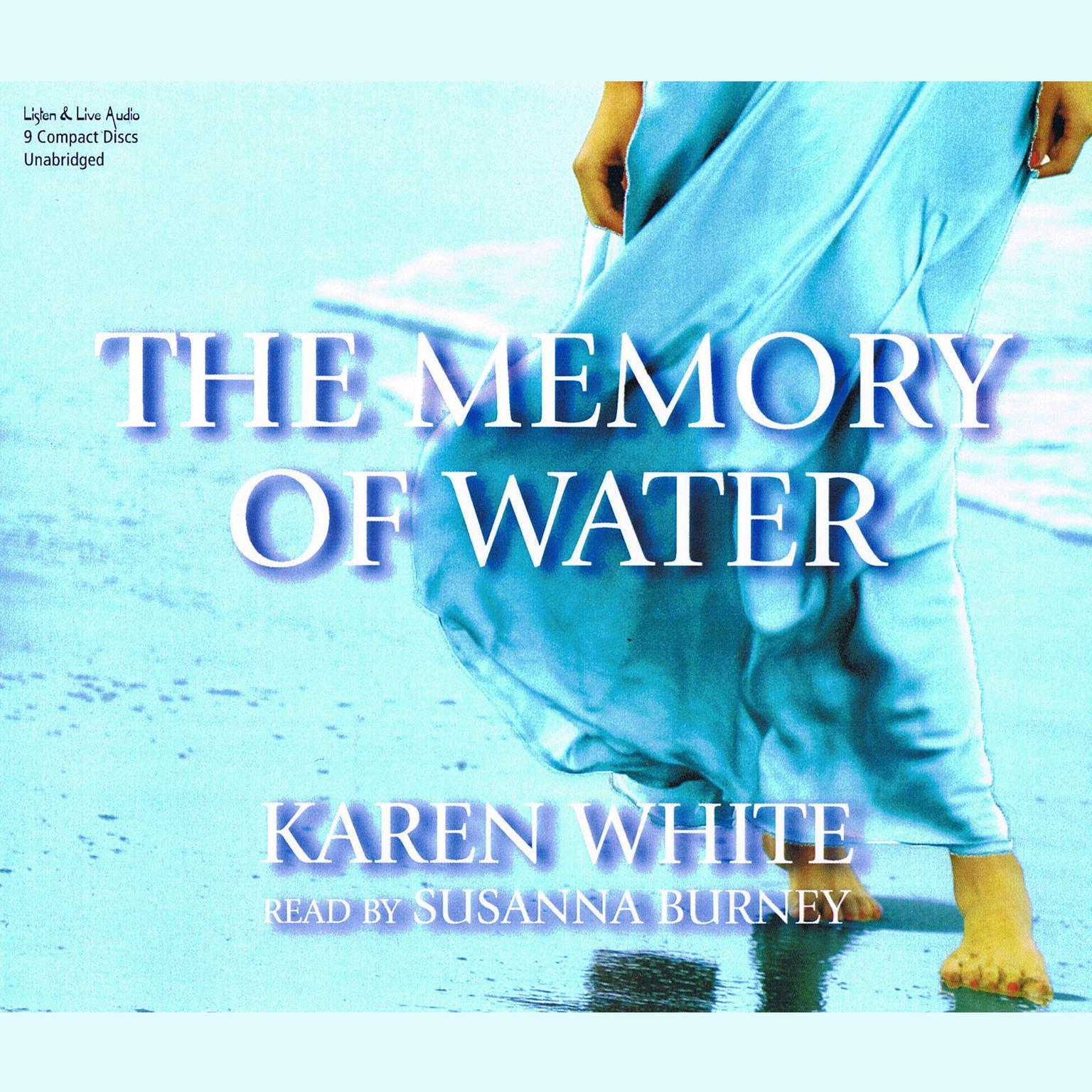 Printable The Memory of Water Audiobook Cover Art