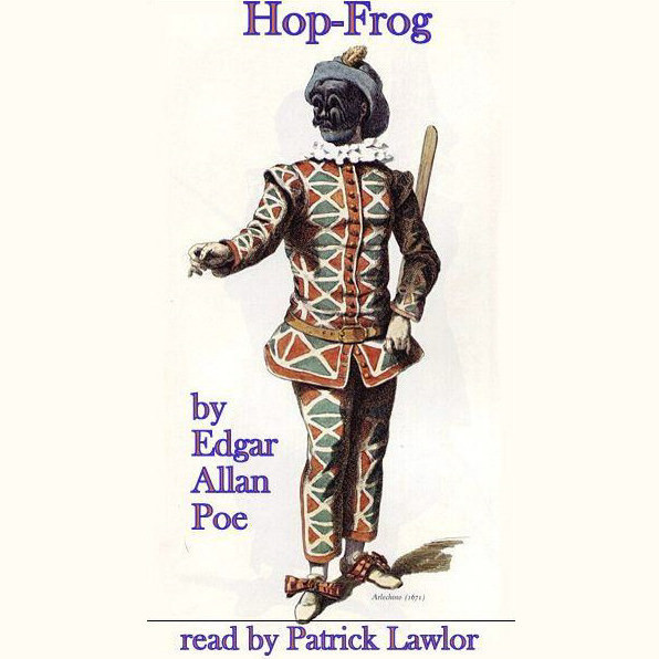 Printable Hop-Frog Audiobook Cover Art