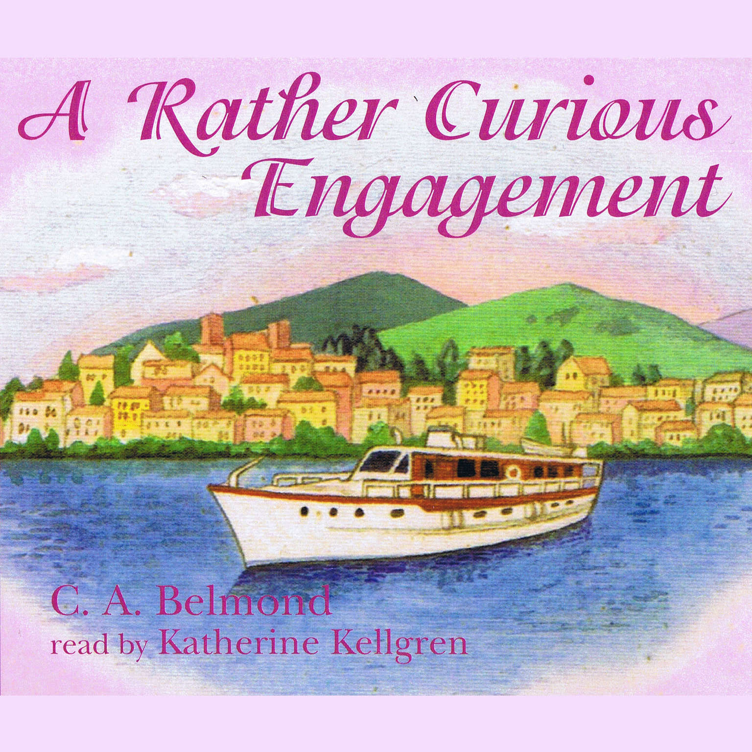 Printable A Rather Curious Engagement Audiobook Cover Art