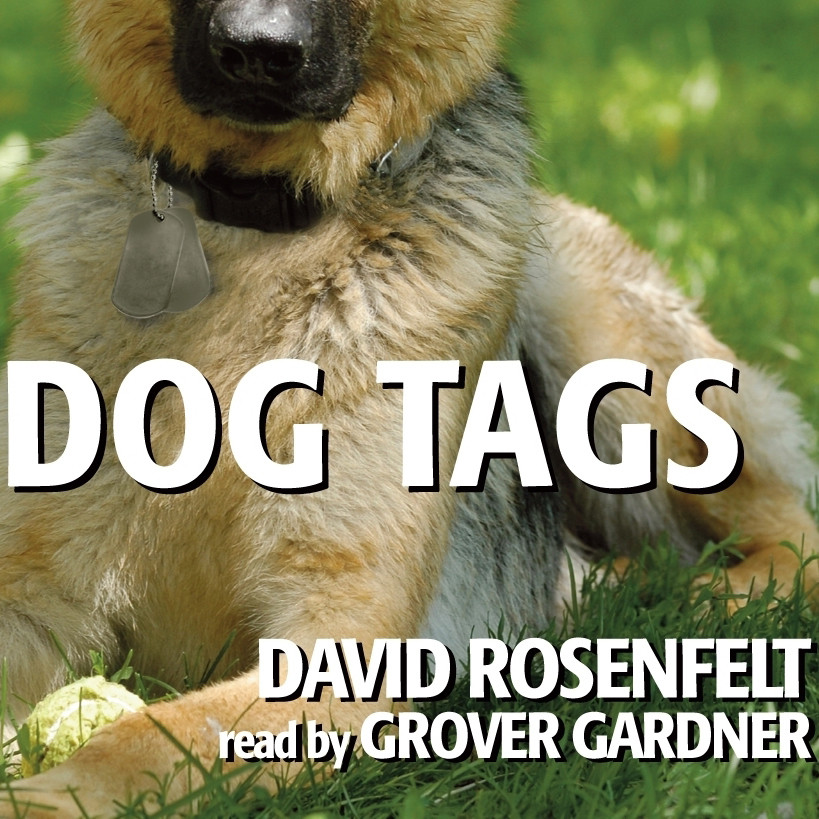 Printable Dog Tags Audiobook Cover Art