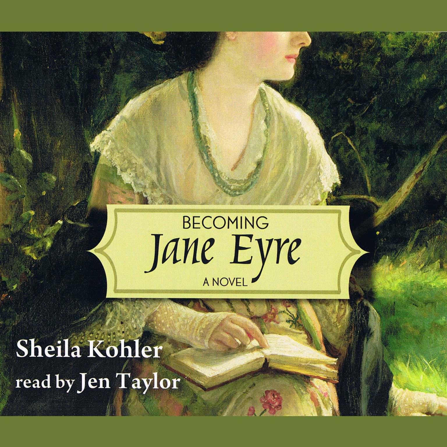 Printable Becoming Jane Eyre Audiobook Cover Art