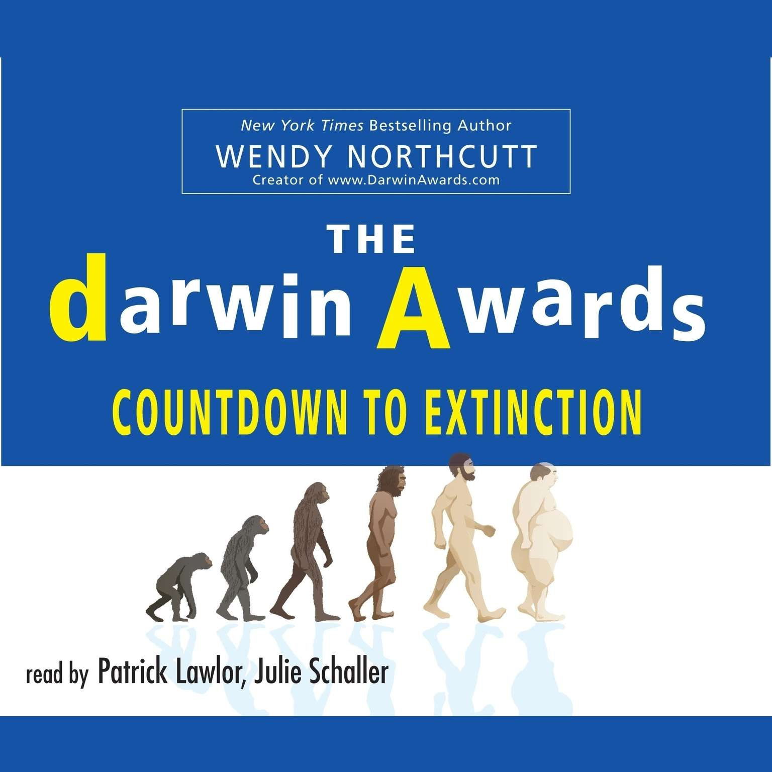 Printable The Darwin Awards Countdown to Extinction Audiobook Cover Art