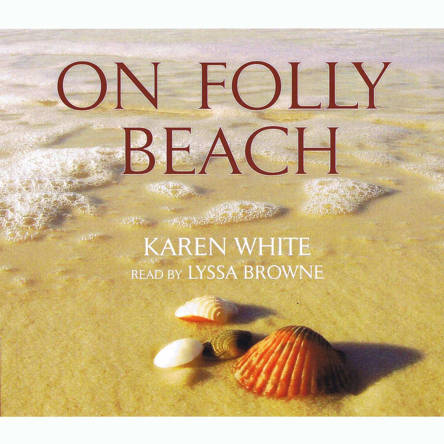 Printable On Folly Beach Audiobook Cover Art