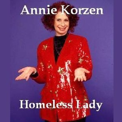 Printable Homeless Lady Audiobook Cover Art