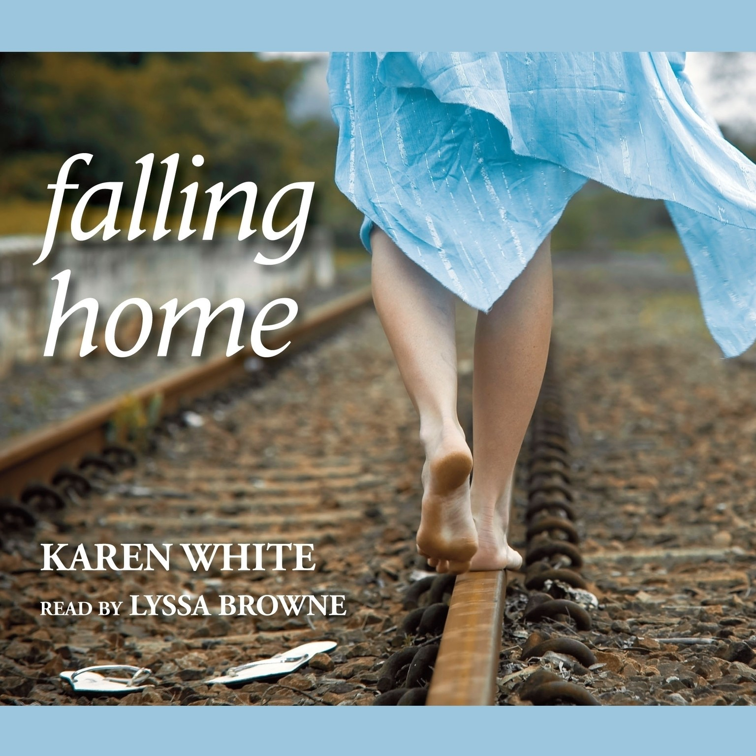 Printable Falling Home Audiobook Cover Art
