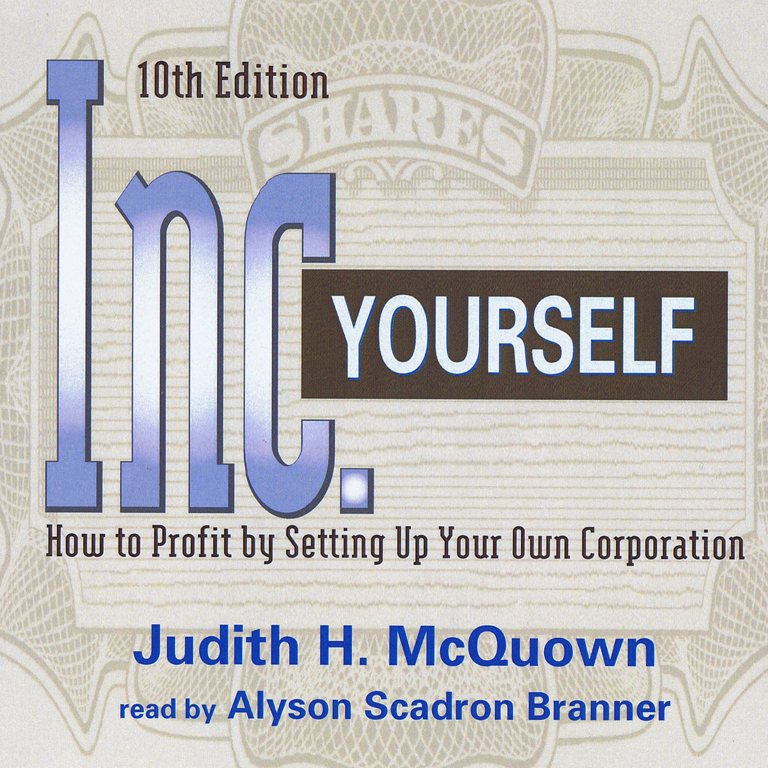 Printable Inc. Yourself: How to Profit by Setting Up Your Own Corporation Audiobook Cover Art