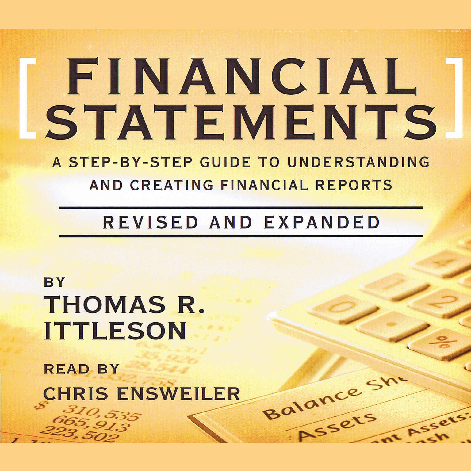 Printable Financial Statements: A Step-by-Step Guide to Understanding and Creating Financial Reports Audiobook Cover Art