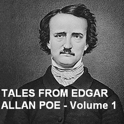 Printable Tales from Edgar Allan Poe, Vol. 1 Audiobook Cover Art