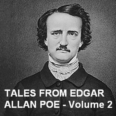 Printable Tales from Edgar Allan Poe, Vol. 2 Audiobook Cover Art