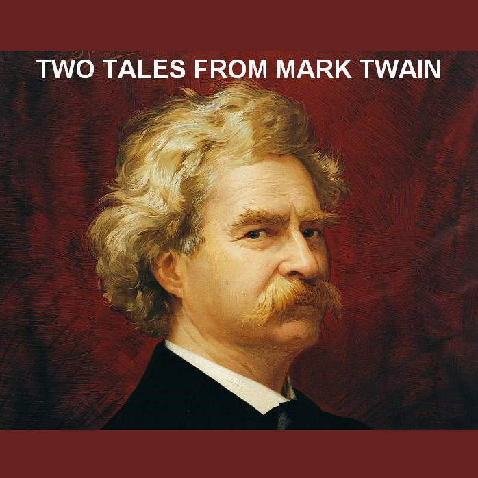 Printable Two Tales from Mark Twain Audiobook Cover Art