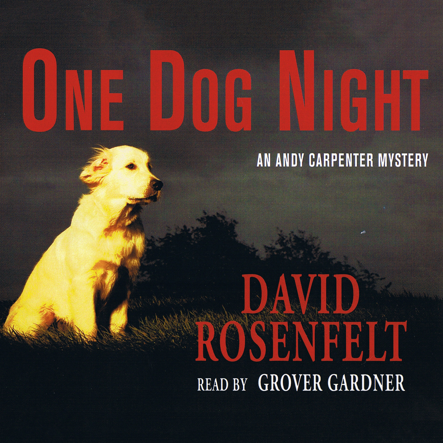 Printable One Dog Night Audiobook Cover Art