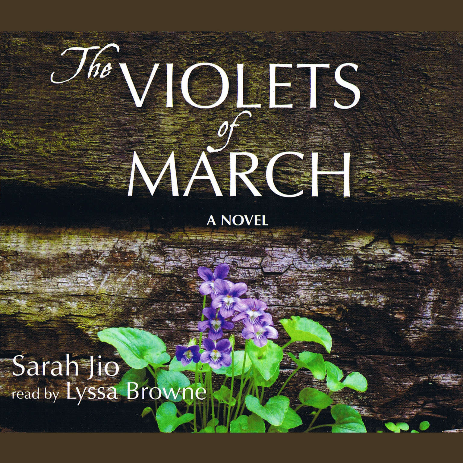 Printable The Violets of March Audiobook Cover Art
