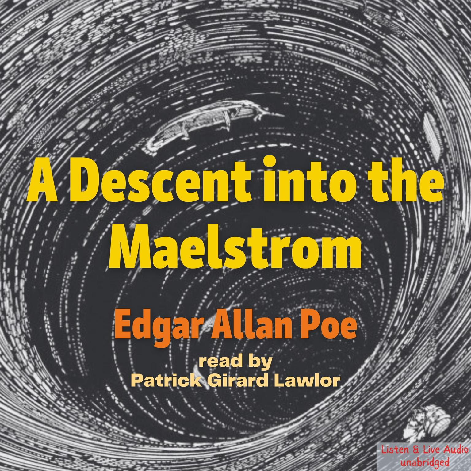Printable A Descent into the Maelström Audiobook Cover Art