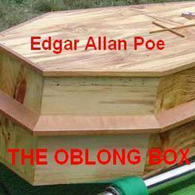 Printable The Oblong Box Audiobook Cover Art