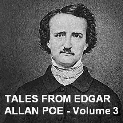 Printable Tales from Edgar Allan Poe, Vol. 3 Audiobook Cover Art