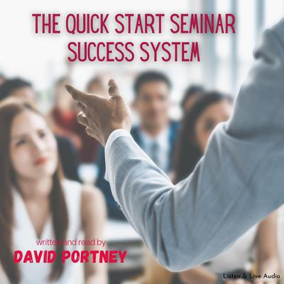 Printable The Quick Start Seminar Success System: 33 Easy Action Steps Audiobook Cover Art