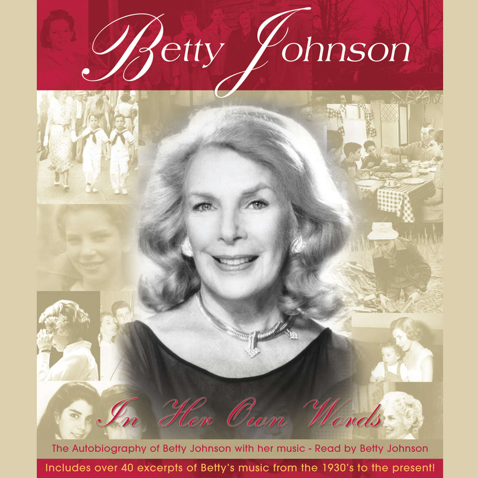 Printable Betty Johnson in Her Own Words Audiobook Cover Art