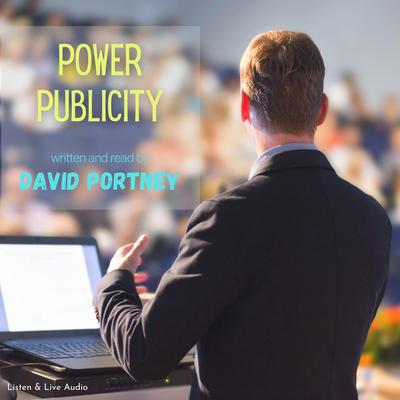 Printable Power Publicity Audiobook Cover Art