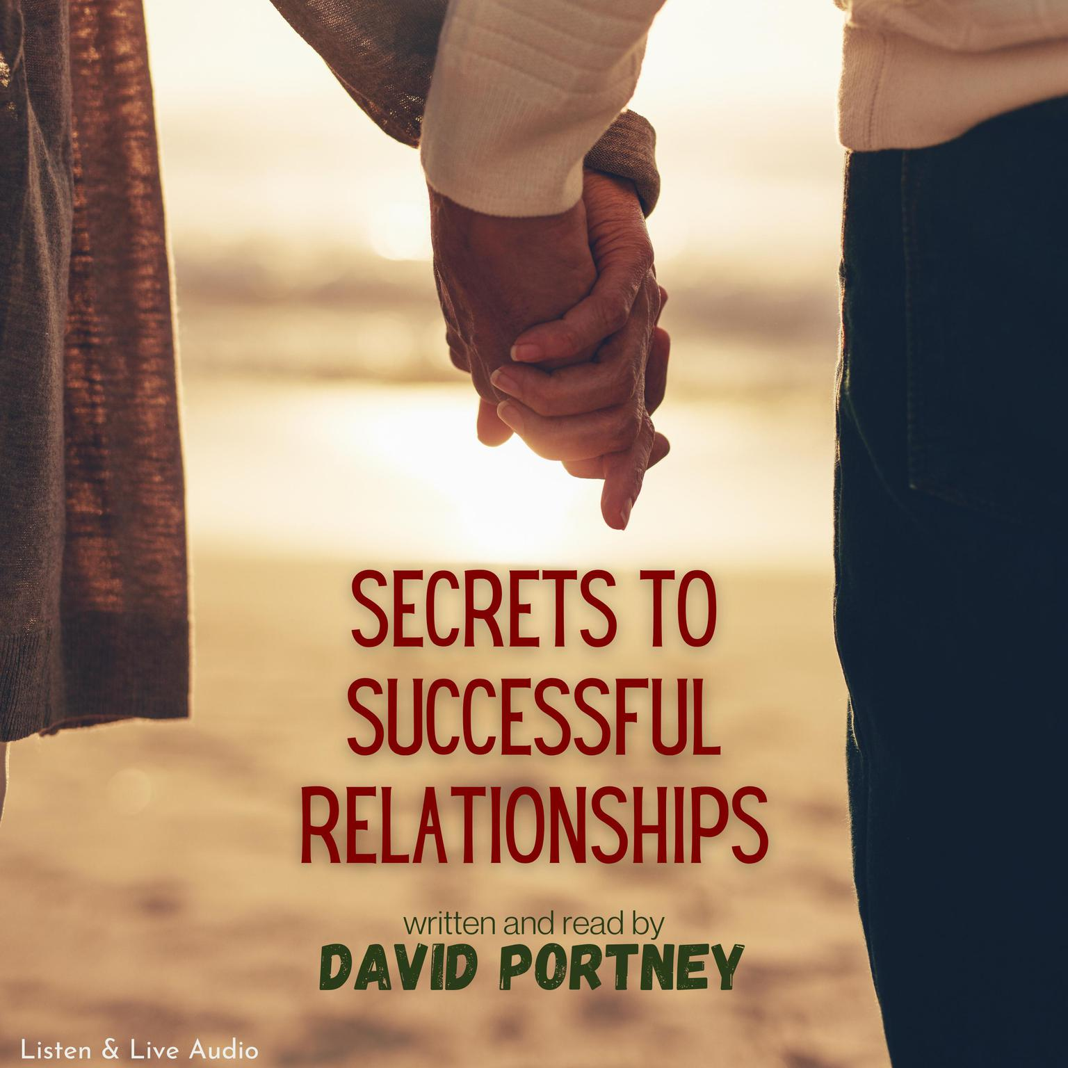 Printable Secrets to Successful Relationships Audiobook Cover Art