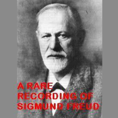 Printable A Rare Recording of Sigmund Freud Audiobook Cover Art