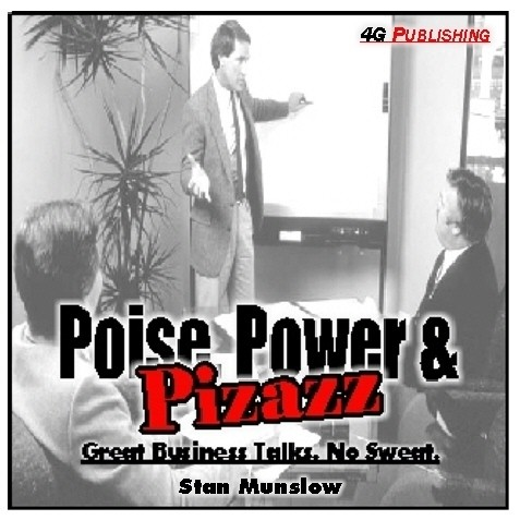 Printable Poise, Power & Pizazz Audiobook Cover Art