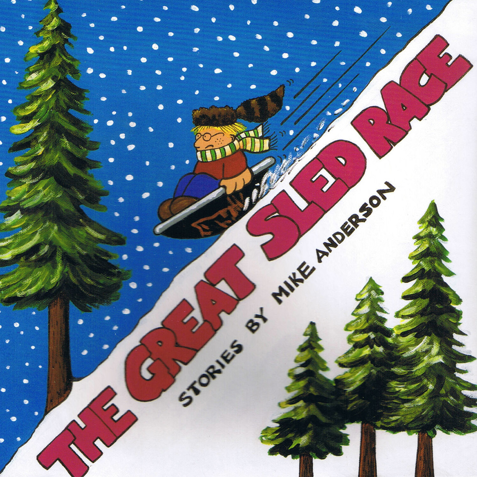 Printable The Great Sled Race: Denny & I, Volume 2 Audiobook Cover Art
