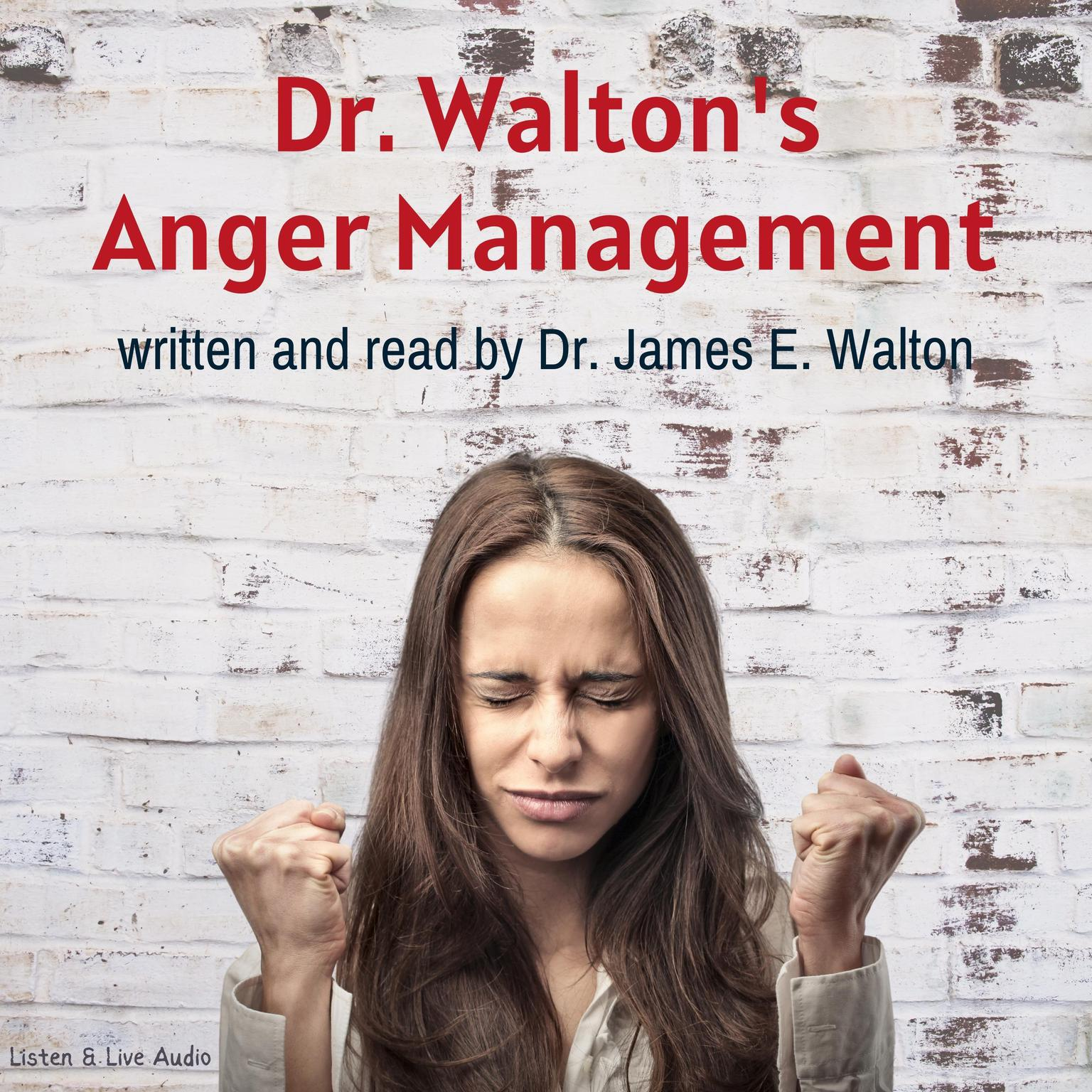 Printable Dr. Walton's Anger Management Audiobook Cover Art