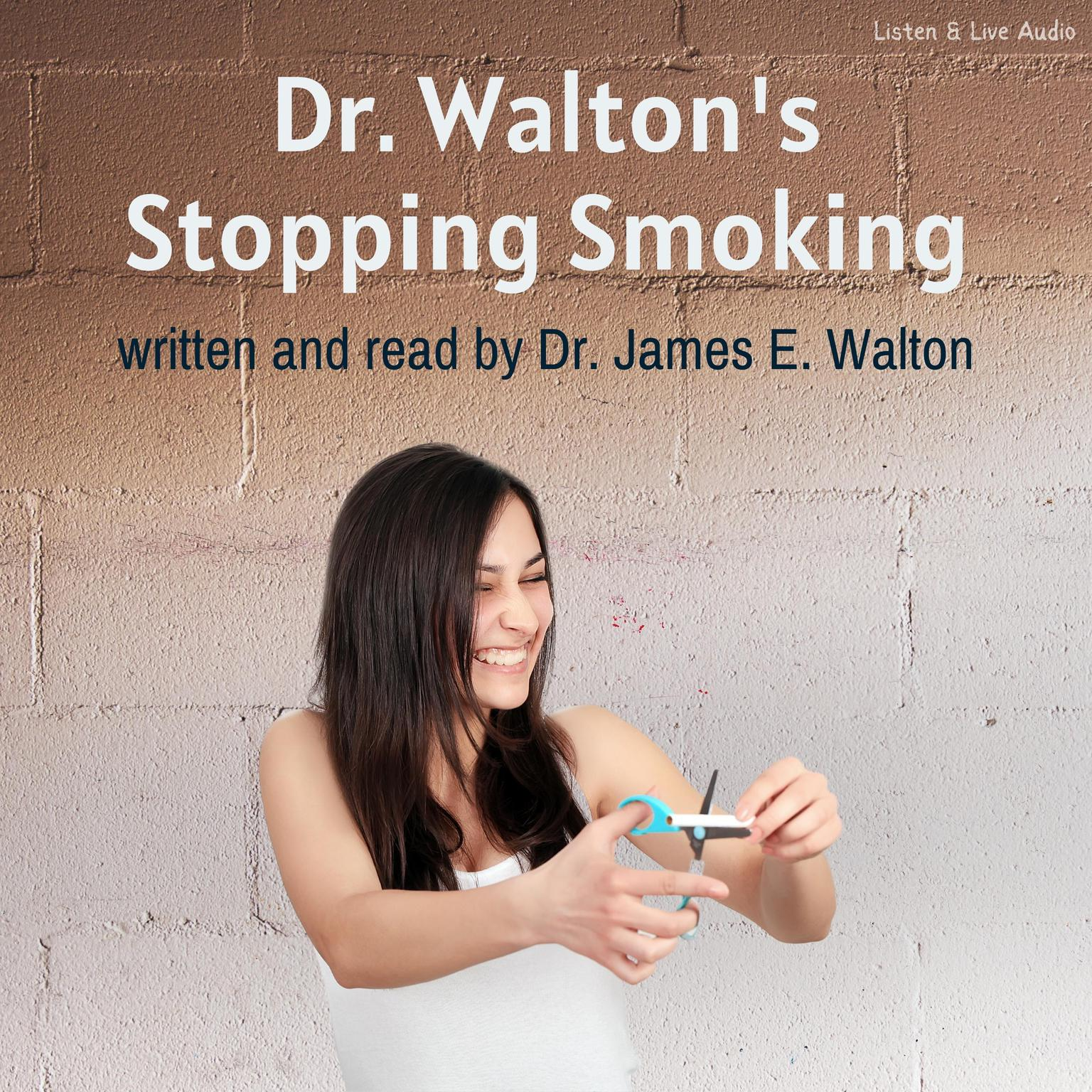 Printable Dr. Walton's Stop Smoking Audiobook Cover Art