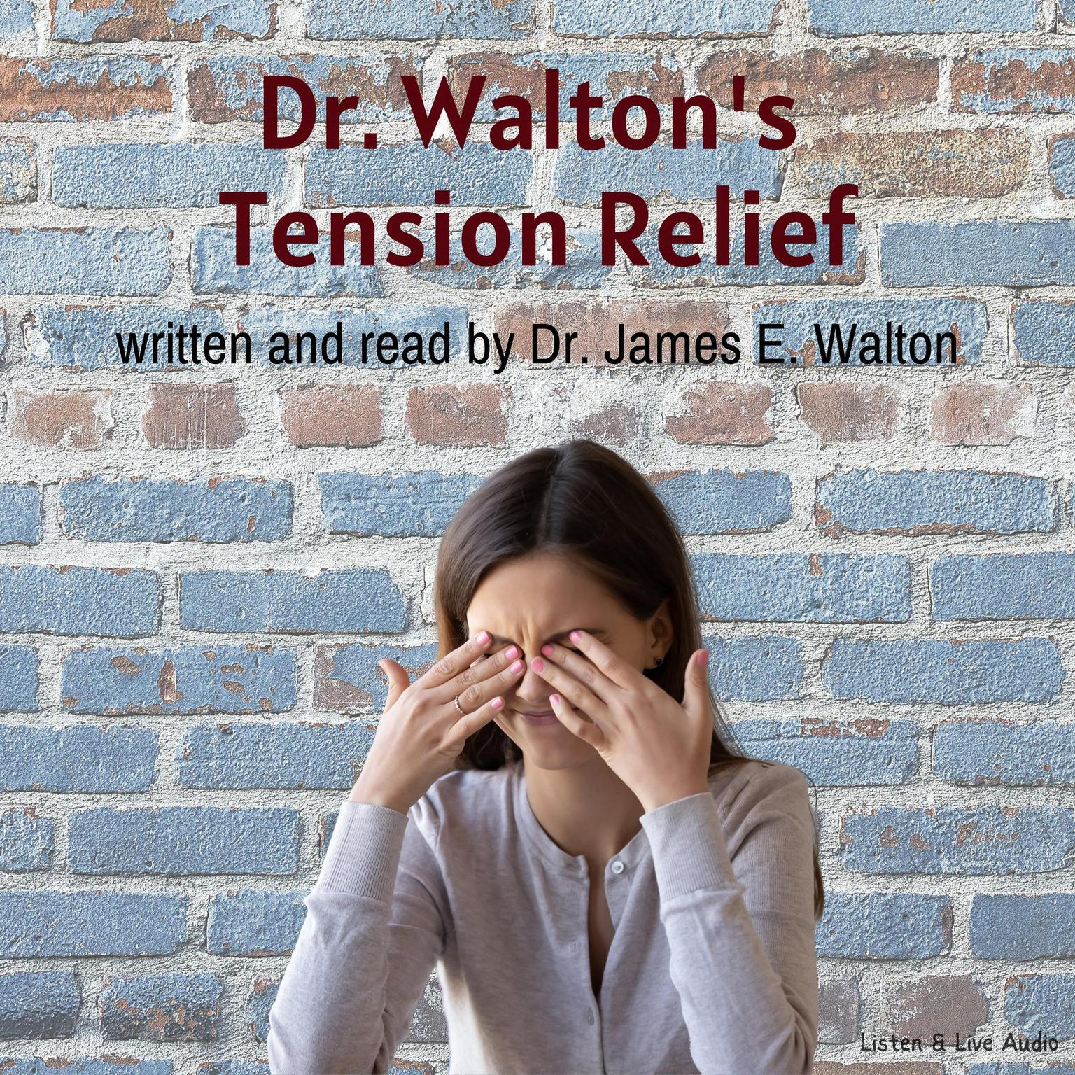 Printable Dr. Walton's Tension Relief Audiobook Cover Art
