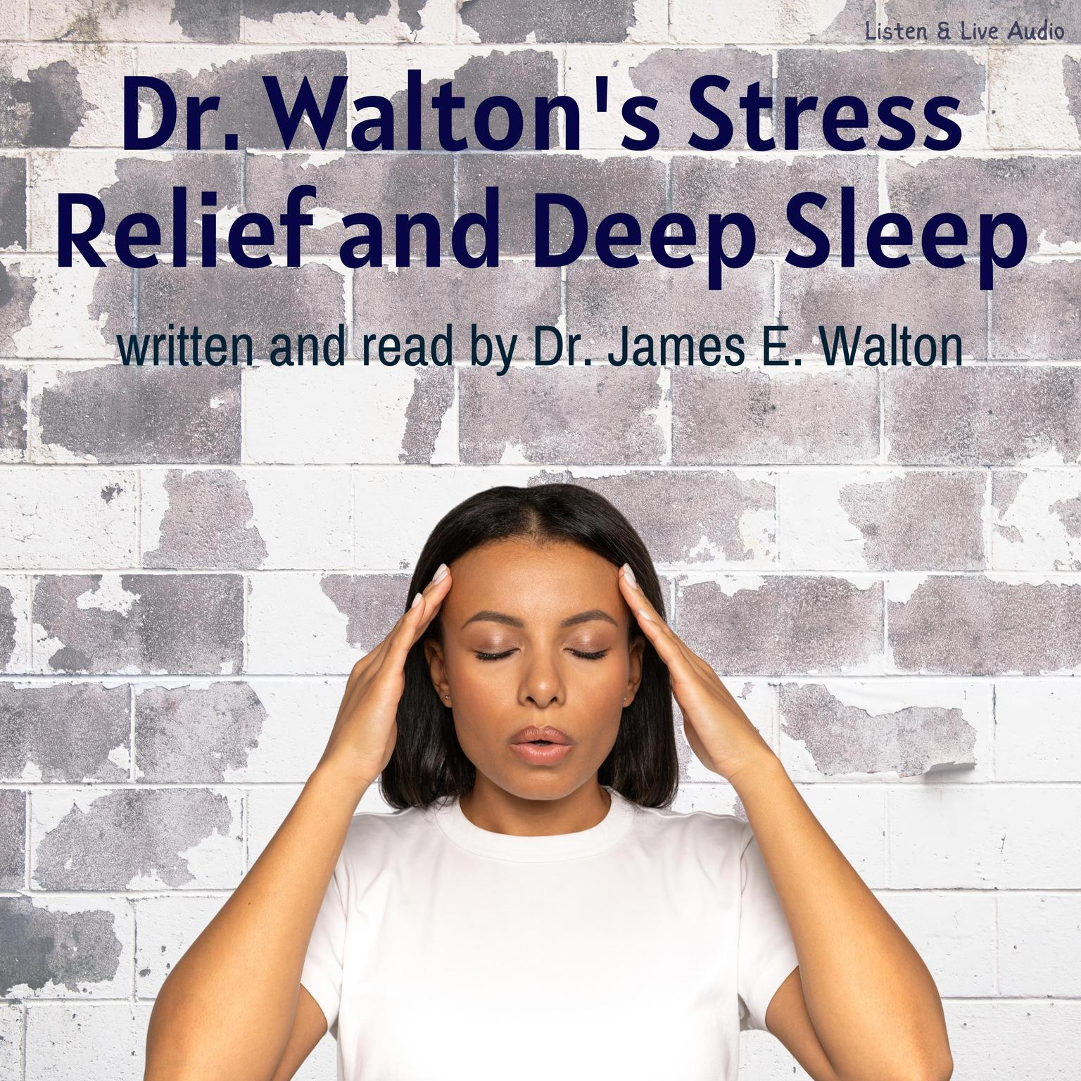Printable Dr. Walton's Stress Relief and Deep Sleep Audiobook Cover Art