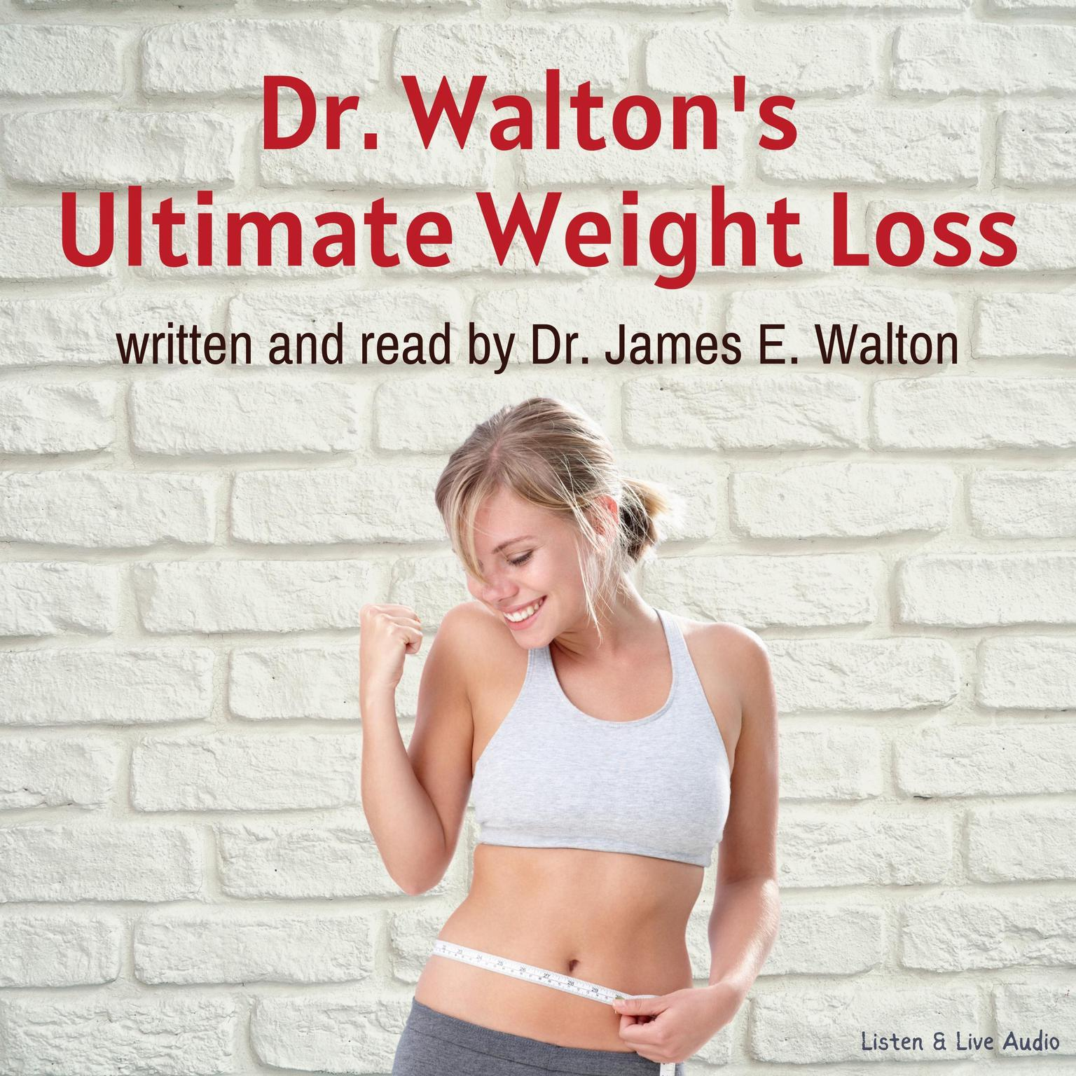 Printable Dr. Walton's Ultimate Weight Loss Audiobook Cover Art
