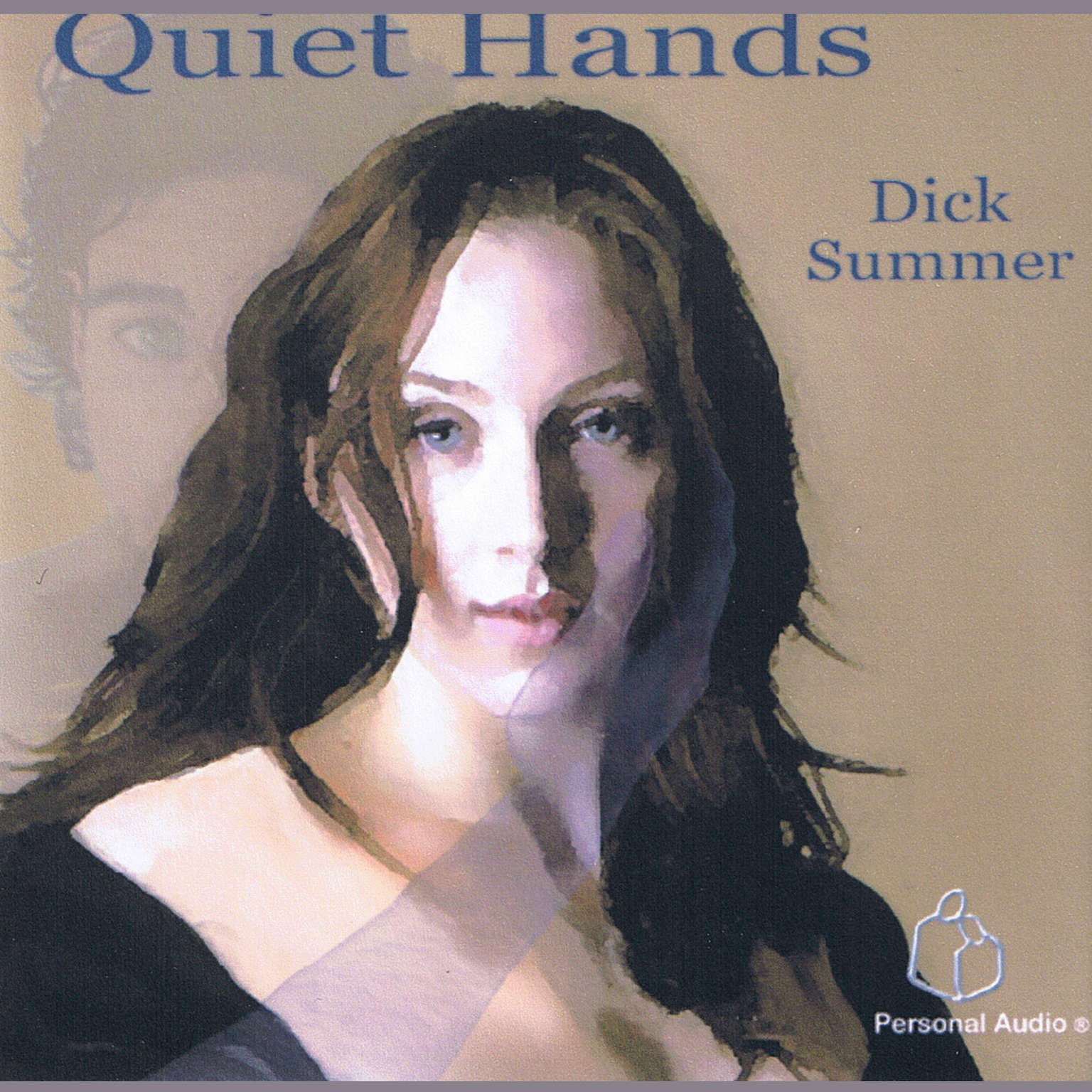 Printable Quiet Hands Audiobook Cover Art