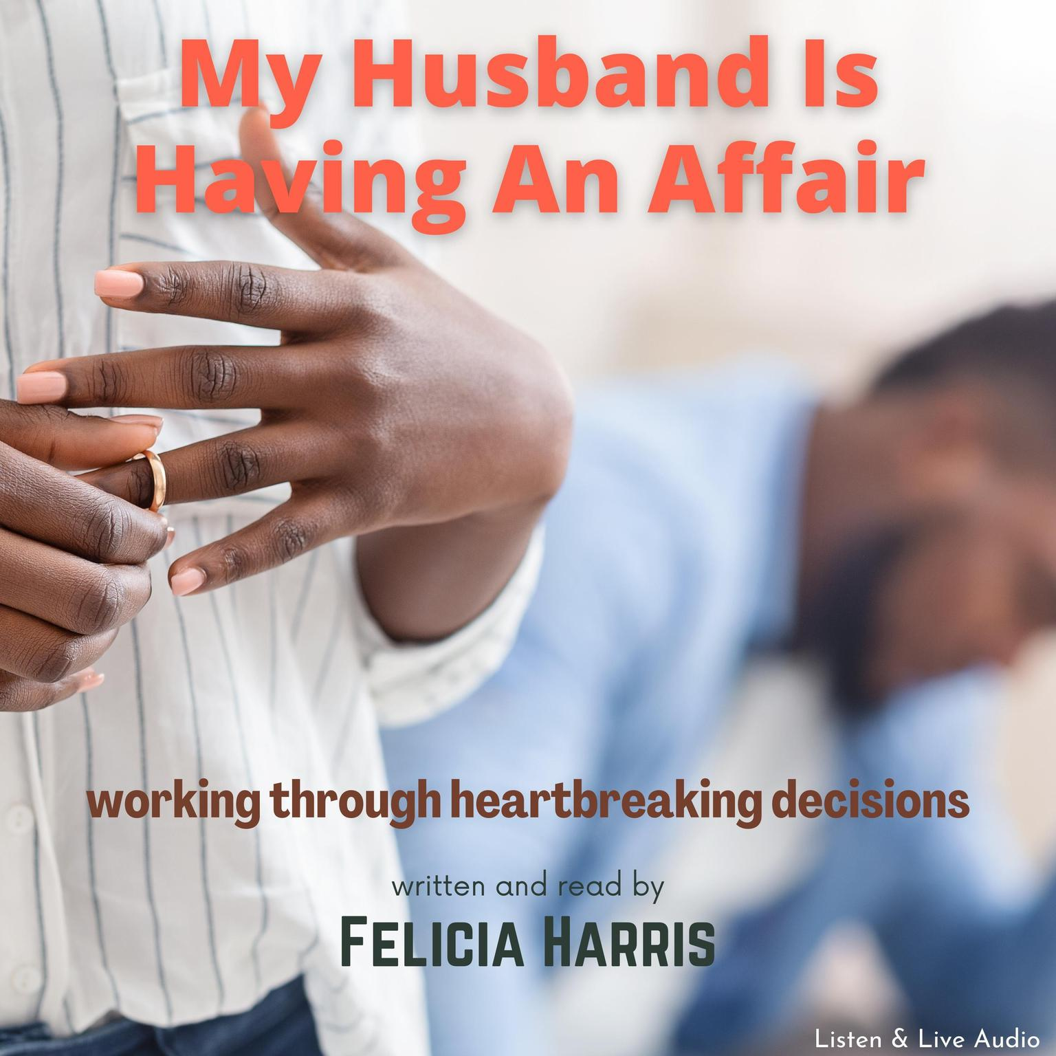 Printable My Husband Is Having an Affair Audiobook Cover Art