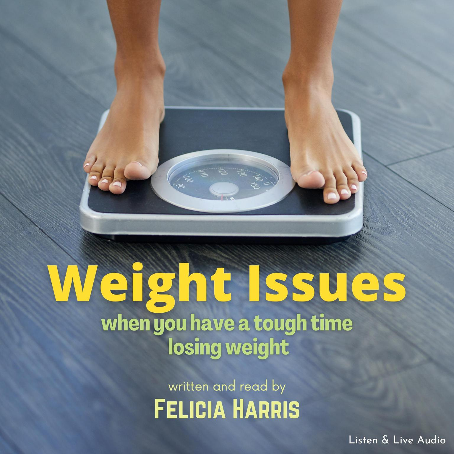 Printable Weight Issues Audiobook Cover Art