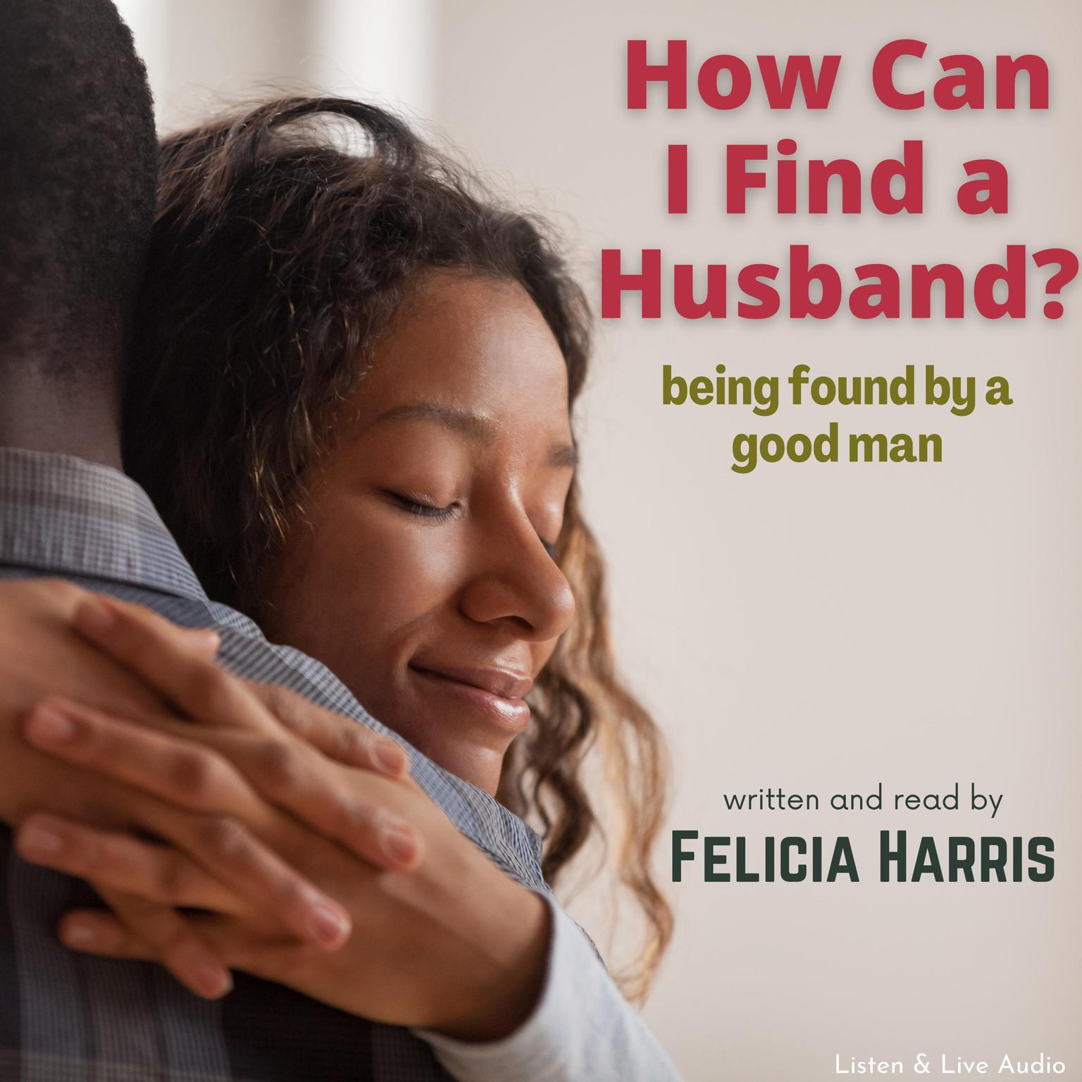 Printable How Can I Find a Husband? Audiobook Cover Art