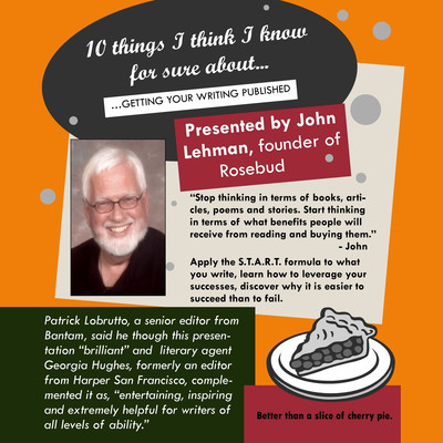 10 Things I Think I Know For Sure About…Getting Your Writing Published Audiobook, by John Lehman