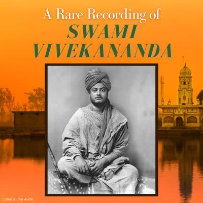 Printable A Rare Recording of Swami Vivekananda Audiobook Cover Art