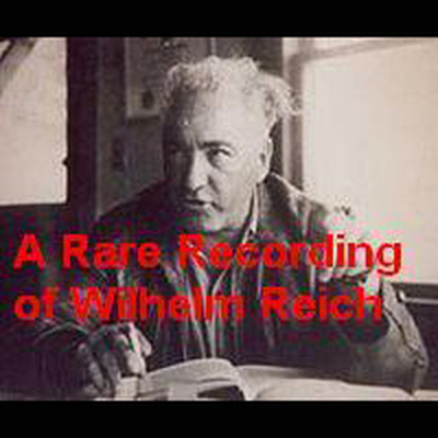 Printable A Rare Recording of Wilhelm Reich Audiobook Cover Art