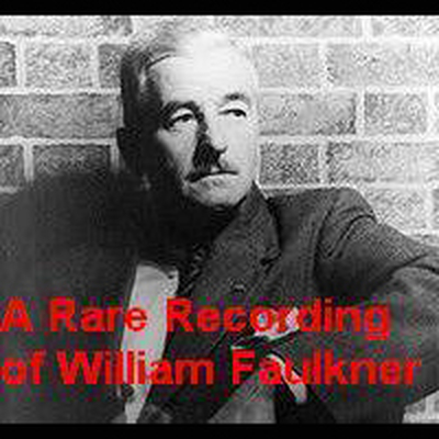 Printable A Rare Recording of William Faulkner Audiobook Cover Art