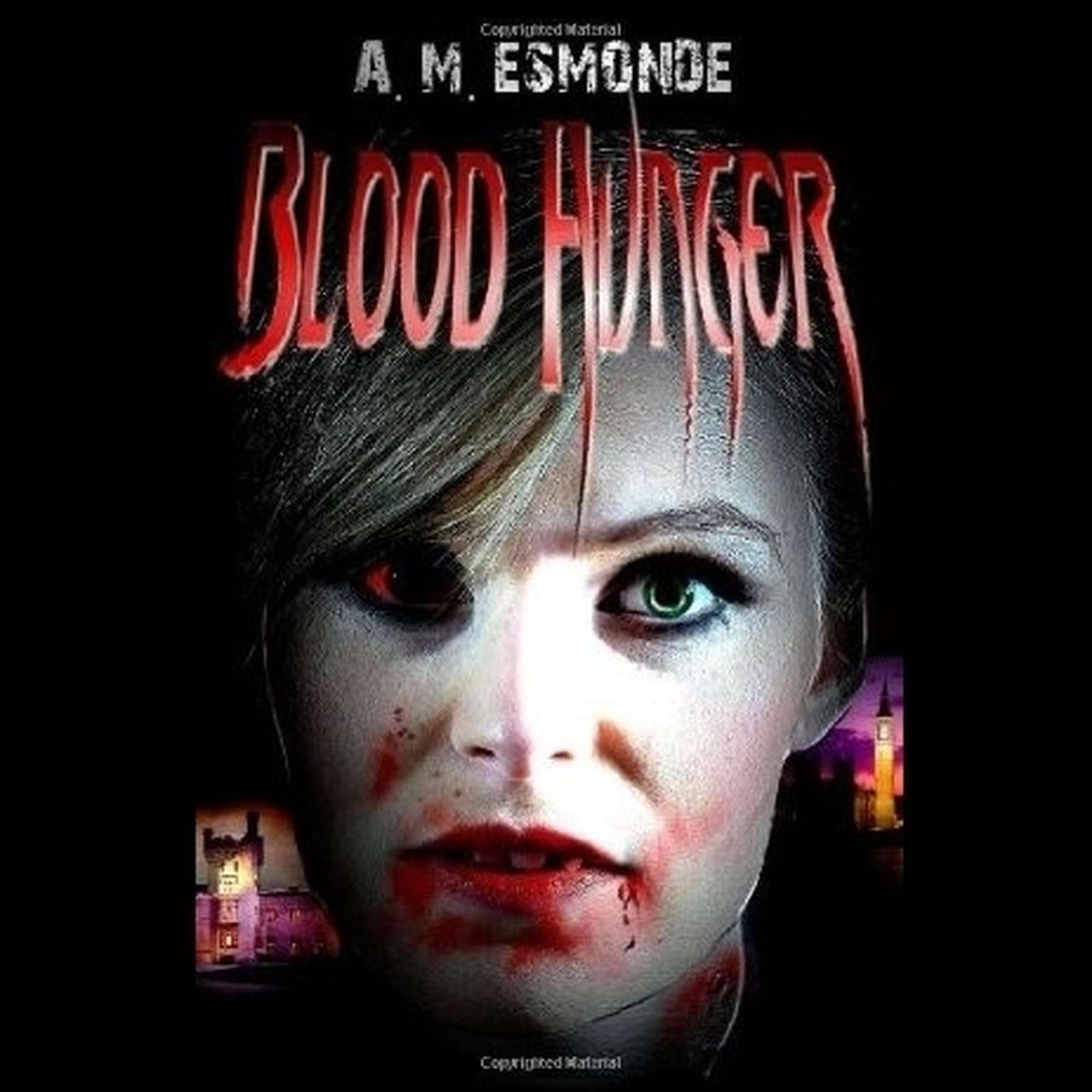 Printable Blood Hunger Audiobook Cover Art