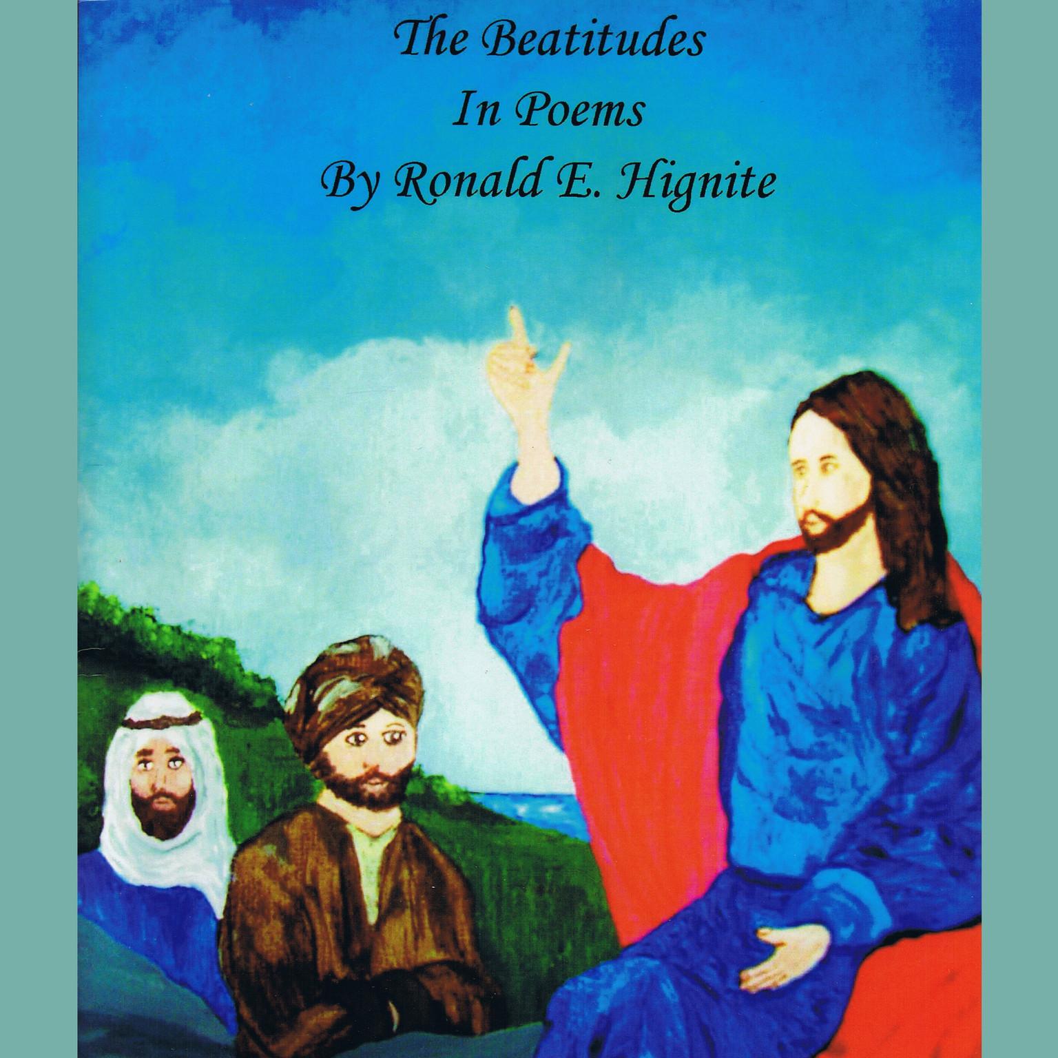 Printable The Beatitudes in Poems Audiobook Cover Art