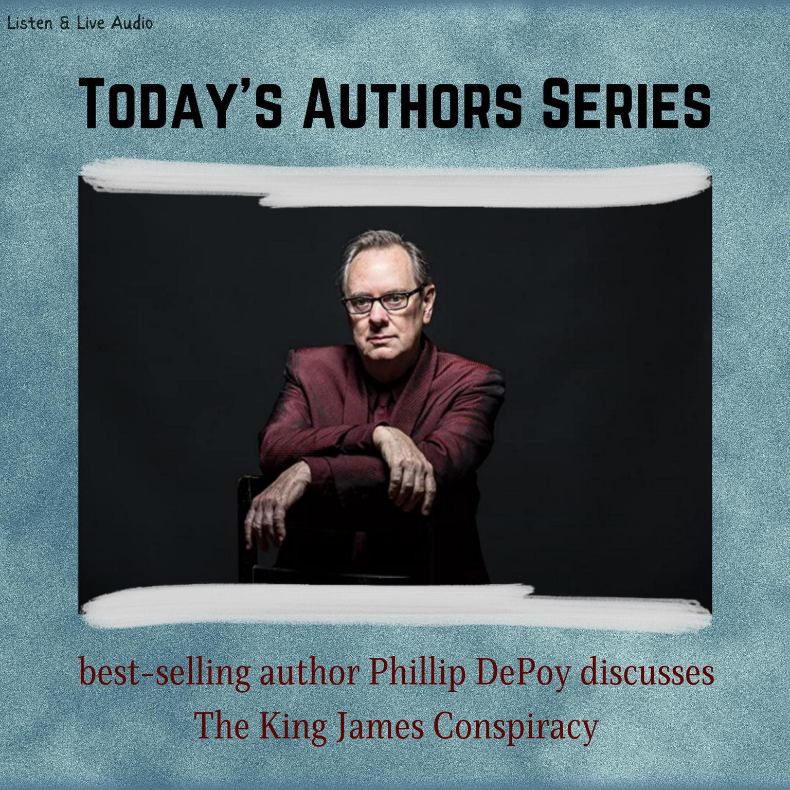 Printable Today's Authors Series: Phillip DePoy Discusses The King James Conspiracy Audiobook Cover Art