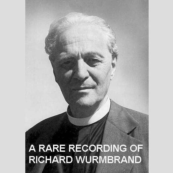 Printable A Rare Recording of Richard Wurmbrand Audiobook Cover Art