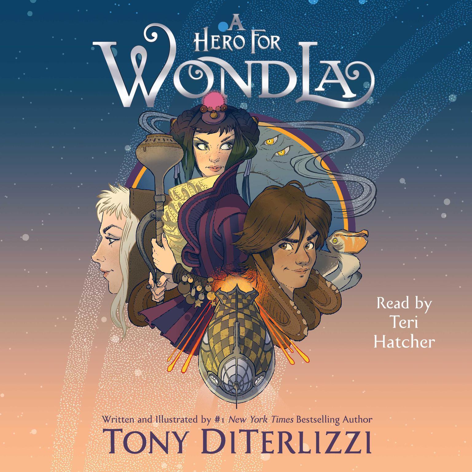 Printable A Hero for WondLa Audiobook Cover Art